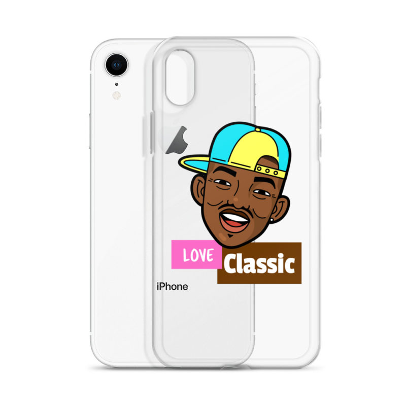 Coque iPhone Love Classic Prince de Bel Air Créer Son T Shirt