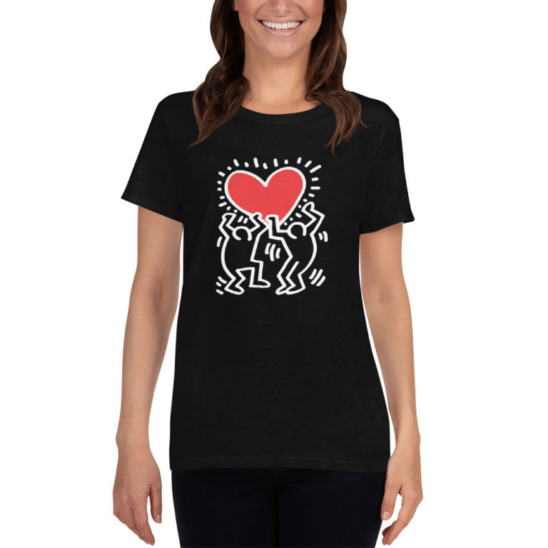 T-shirt Keith Haring pour Femme