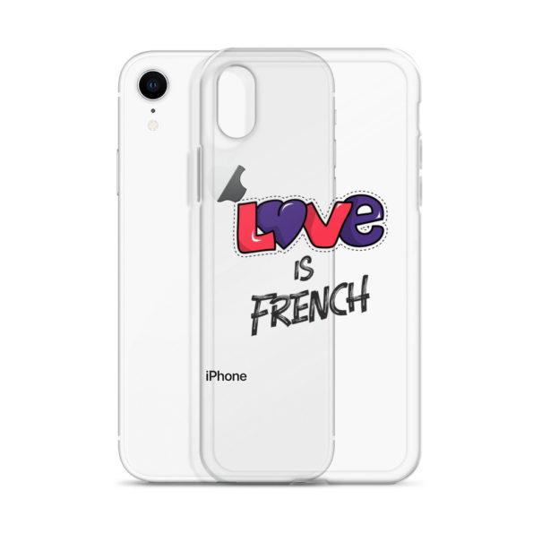 Coque iPhone Love is French