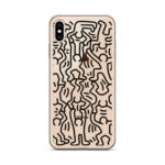 Coque iPhone Keith Haring