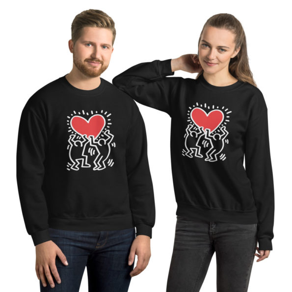 Sweat Keith Haring Unisexe à Col Rond