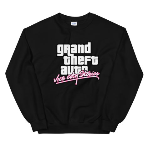 Sweat GTA Vice City Stories Unisexe à Col Rond Créer Son T Shirt