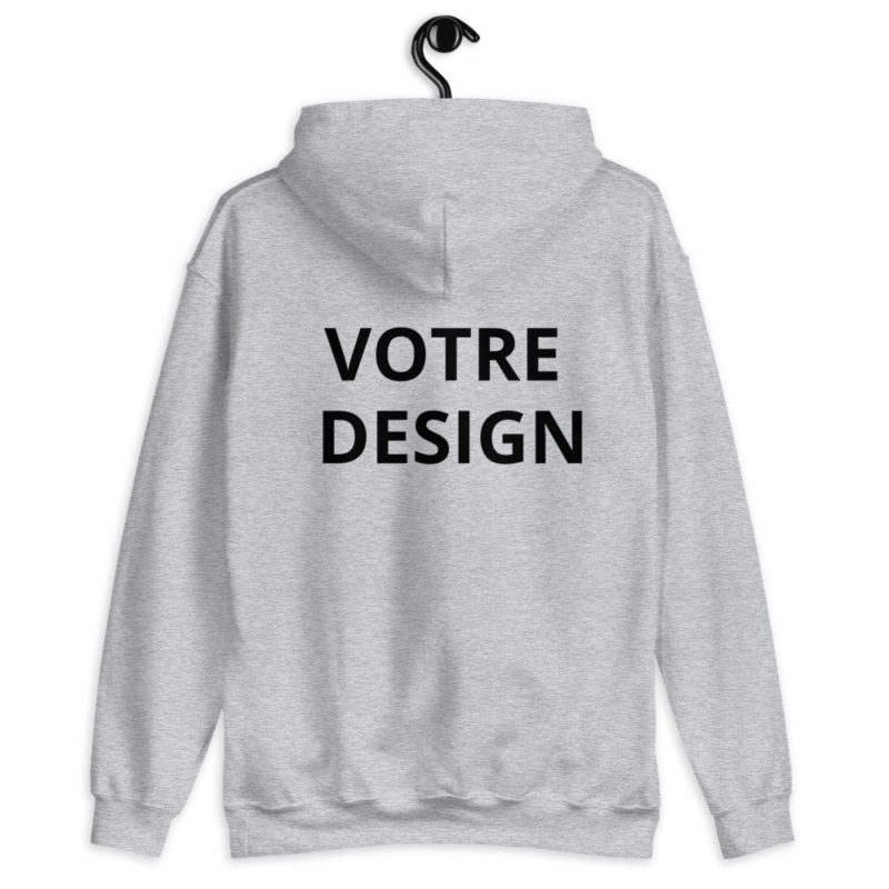 sweat-à-capuche-gris-personnalisable