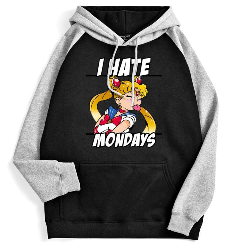 Sweat à capuche Sailormoon Femme - I hate Mondays Créer Son T Shirt