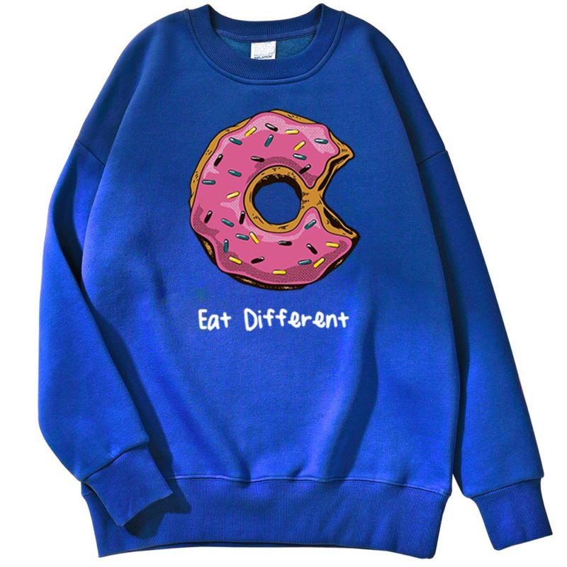 Sweat Donuts Eat Different Créer Son T Shirt