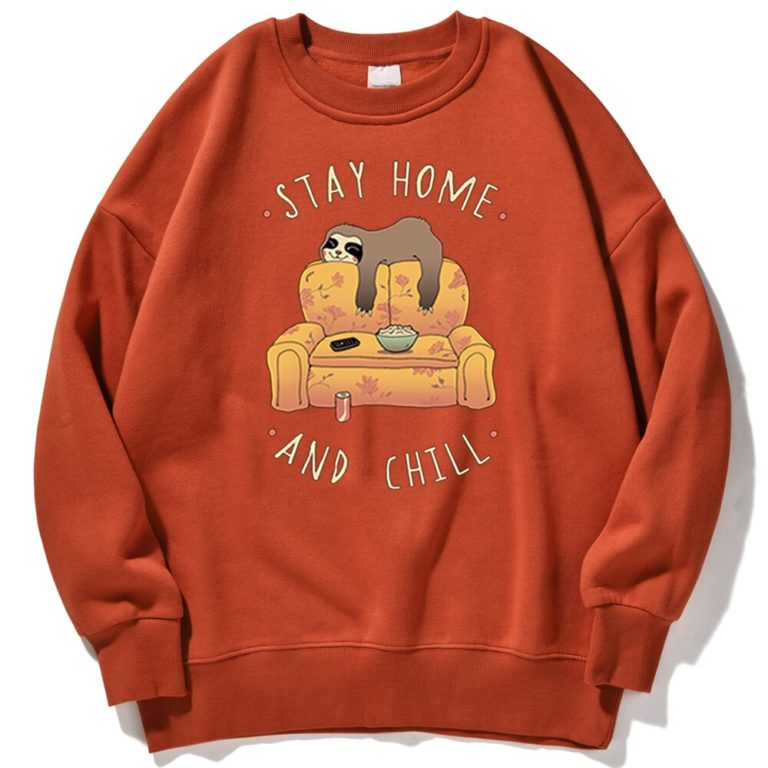 Sweat Stay Home and Chill – Femme