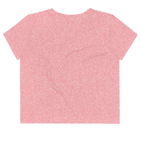 T-shirt Crop-Top all over Glitter Pastel Créer Son T Shirt