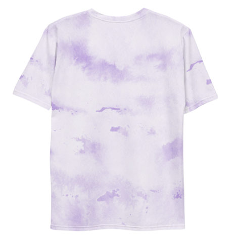 T-shirt All Over Aquarelle Purple