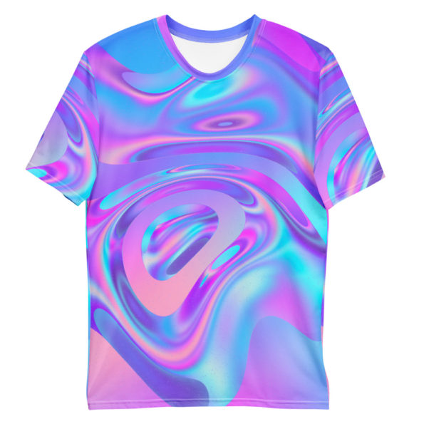 T-shirt All Over Holographic