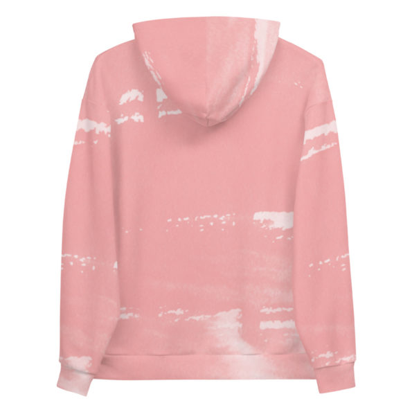 Sweat Personnalisé All Over Aquarelle Pink
