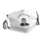 Masque lavable Johnny Hallyday Hommage