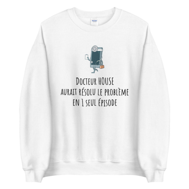 Sweat coronavirus humour docteur house