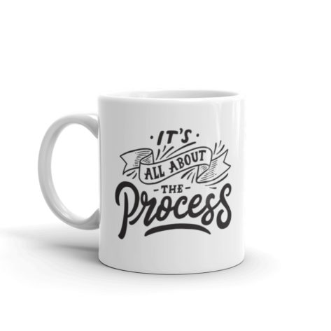 Mug It's All About The Process Créer Son T Shirt
