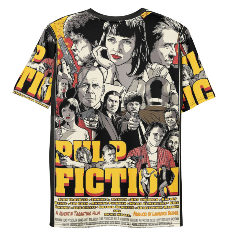t-shirt pulp fiction full print film