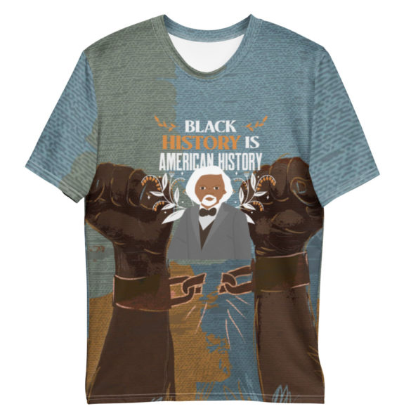T-shirt Black History All Over – Homme