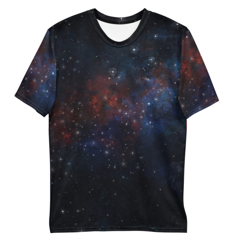 T-shirt All Over Galaxie pour Homme