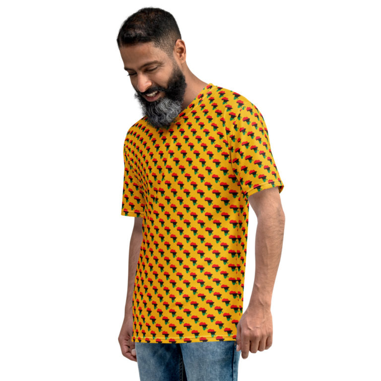 T-shirt Panafricain All Over pour Homme