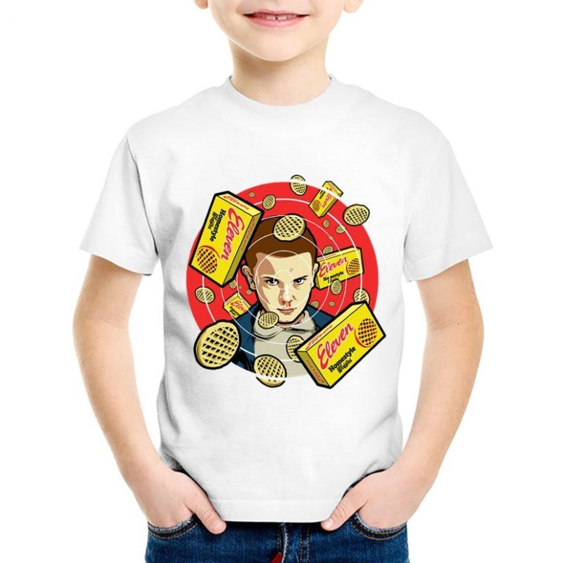 T-shirt Stranger Things Onze Enfant Créer Son T Shirt