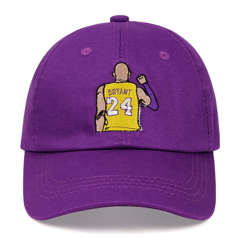 Casquette Kobe Bryant Broderie 24 Lakers