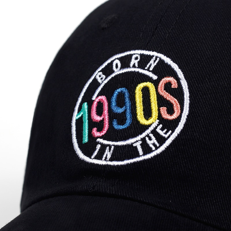 Casquette 1990 Born in The 1990s brodée