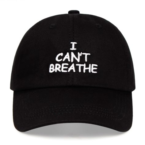 Casquette I Can't Breathe George Floyd - Ajustable Créer Son T Shirt