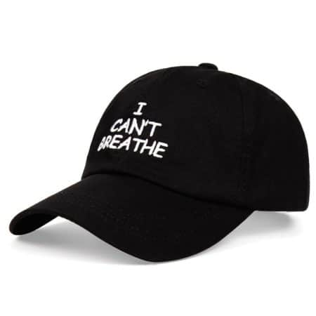 Casquette I Can't Breathe George Floyd – Ajustable