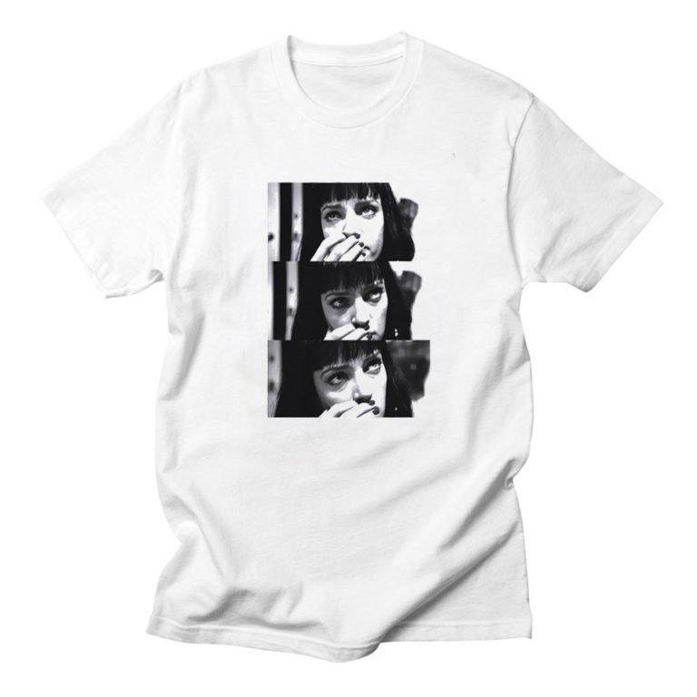T-shirt Pulp Fiction Mia Wallace