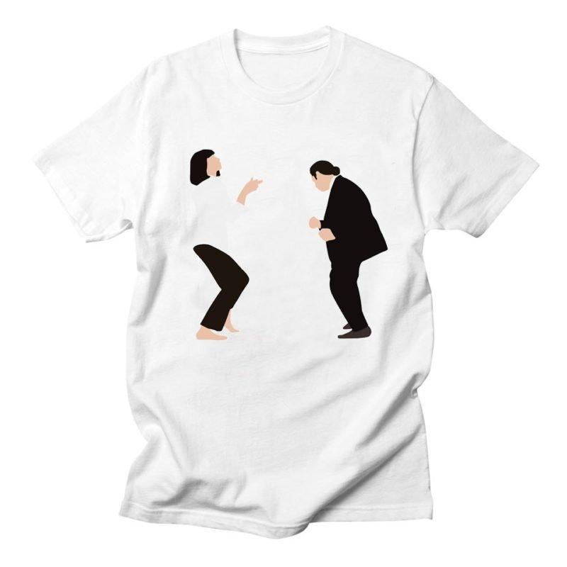 t-shirt pulp fiction john travolta danse