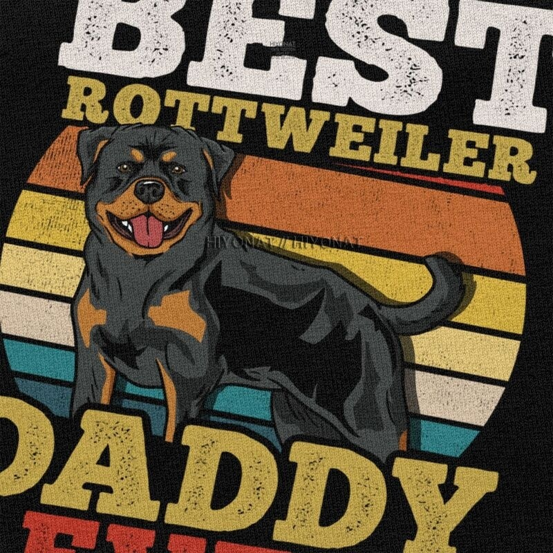 T-shirt Rottweiler Best Daddy Ever Créer Son T Shirt