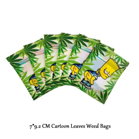 Pochon Weed Simpson en plastique
