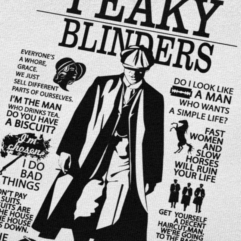 T-shirt Peaky Blinders Frères Shelby Créer Son T Shirt