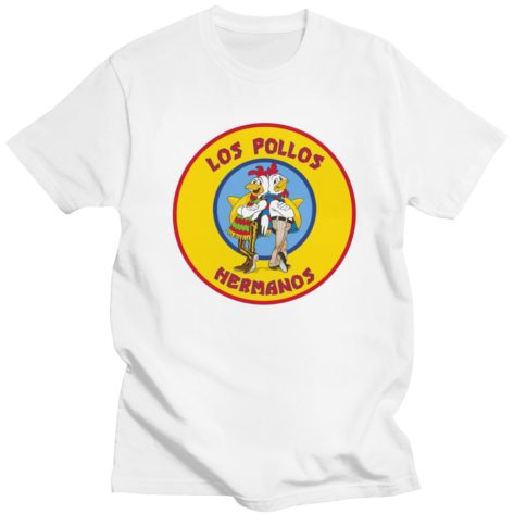 T-shirt Breaking Bad Los Pollos Hermanos