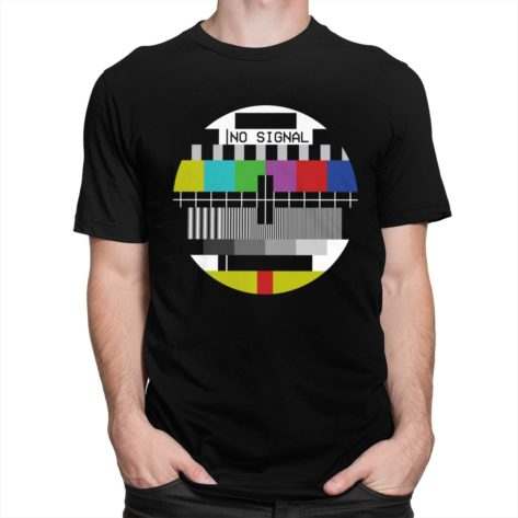 T-shirt No Signal Sheldon Cooper