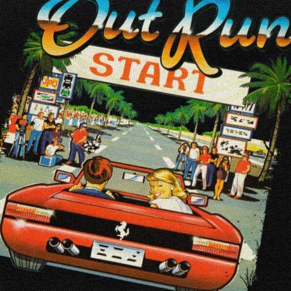 T-shirt Vintage Console de jeu d'arcade japonaise