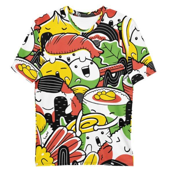 T-shirt Ramen Japon Illustration Full Print