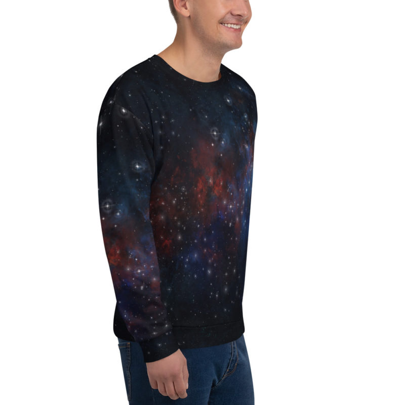 Pull Galaxie - Sweat All Over Créer Son T Shirt