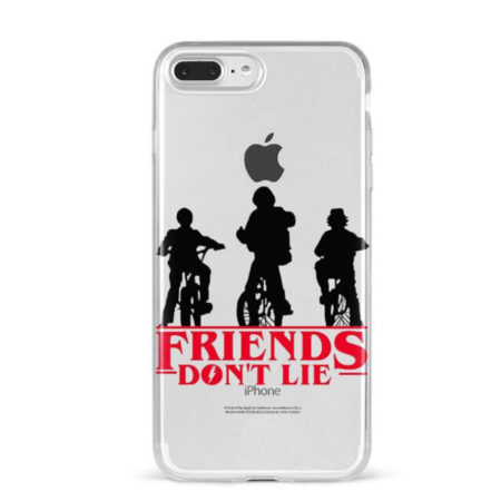 Coque iphone Strangers Things Friends Don't Lie
