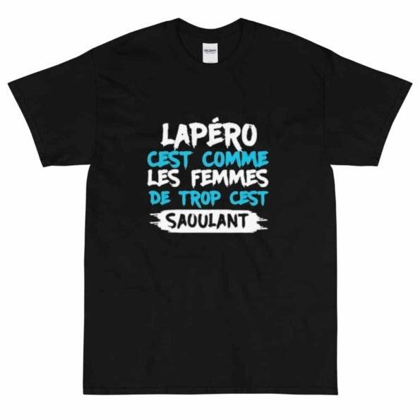 T-shirt Apéro c'est comme les Femmes