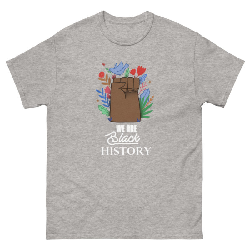 t-shirt we are black history