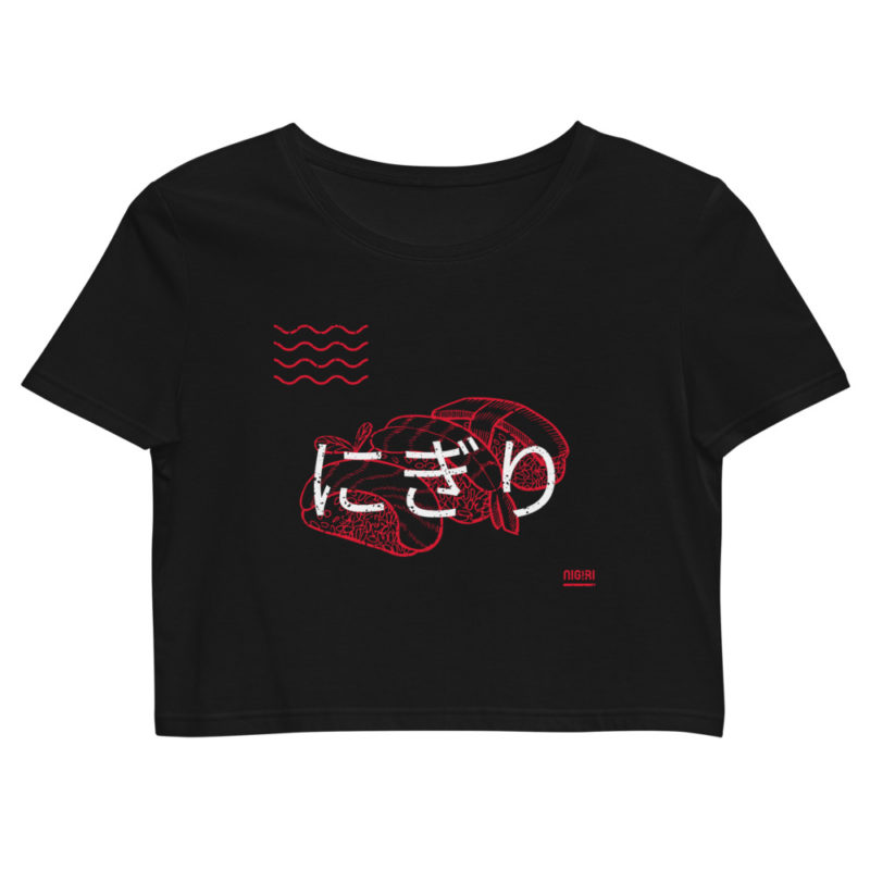Crop top Sushi Nigiri Japon Créer Son T Shirt