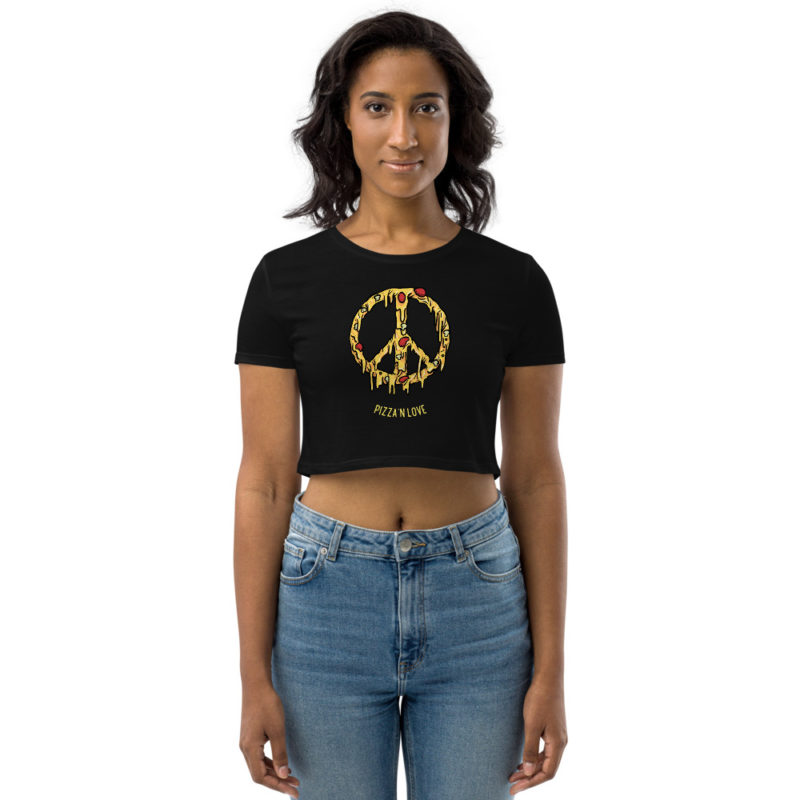Crop top Pizza And Love Créer Son T Shirt