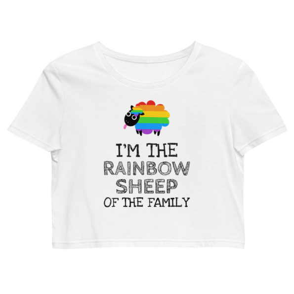 Crop top LGBT Rainbow Sheep Of the Family