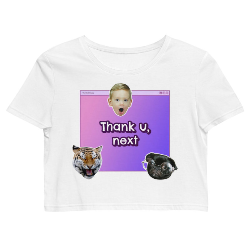 Crop top Thank U Next Créer Son T Shirt