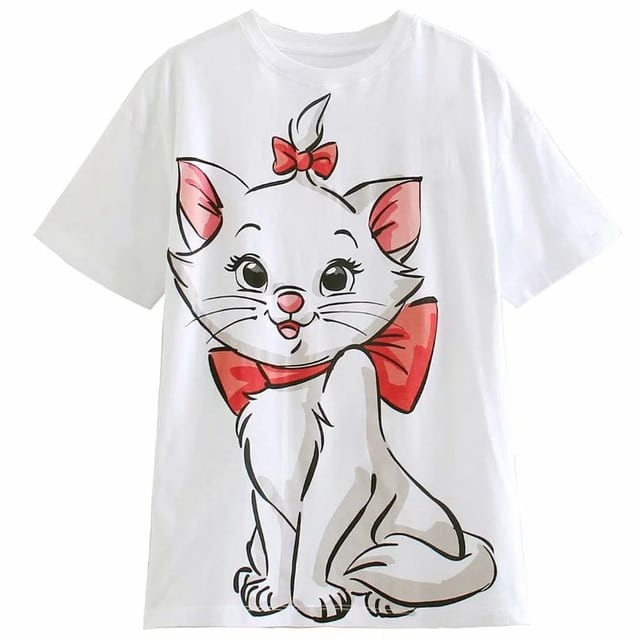 t-shirt disney marie aristochats