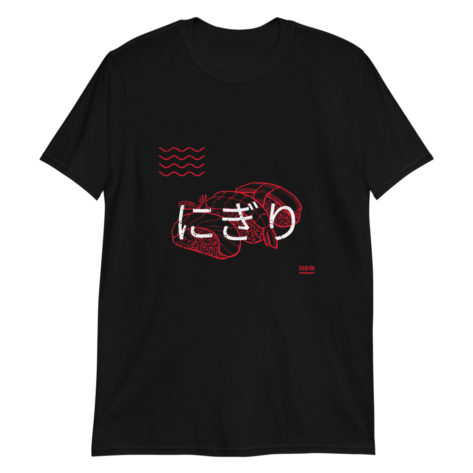 t-shirt sushi nigiri japon japan