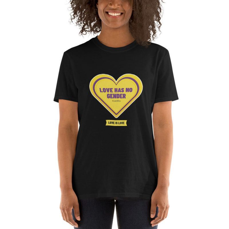 T-shirt Love has no Gender Créer Son T Shirt