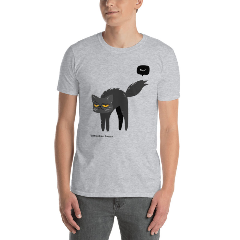 t-shirt chat just feed me human
