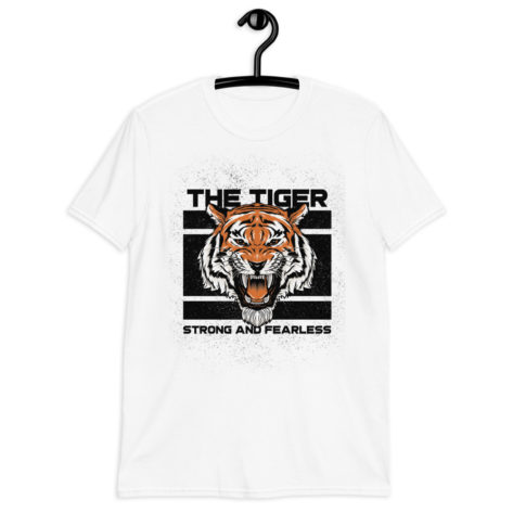 t-shirt tiger tigre strong fearless