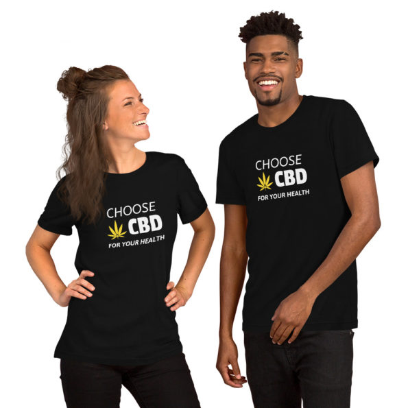 T-shirt Choose CBD for your health