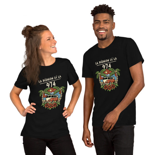 T-shirt 974 La Réunion Lé La